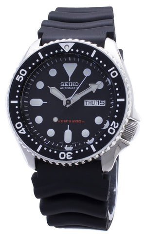Seiko Automatic Diver SKX007 SKX007K1 SKX007K Rubber Band Men's Watch