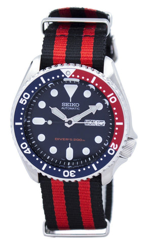 Seiko Automatic Diver's 200M NATO Strap SKX009K1-NATO3 Men's Watch
