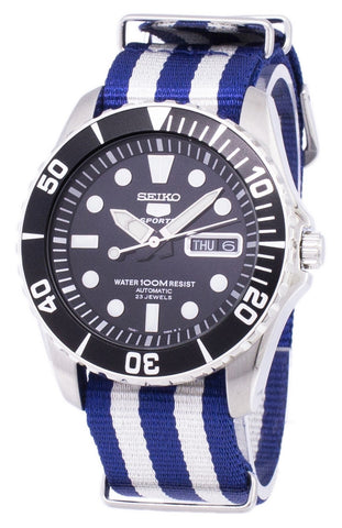 Seiko 5 Sports Automatic NATO Strap SNZF17K1-NATO2 Men's Watch