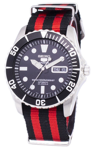 Seiko 5 Sports Automatic NATO Strap SNZF17K1-NATO3 Men's Watch