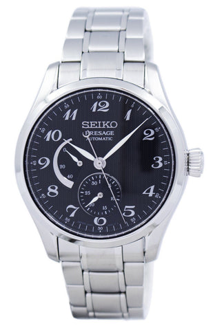 Seiko Presage Automatic Power Reserve Japan Made SPB061 SPB061J1 SPB061J Men's Watch