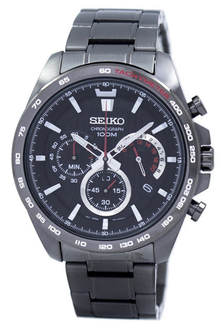 Seiko Chronograph Quartz Tachymeter SSB311 SSB311P1 SSB311P Men's Watch