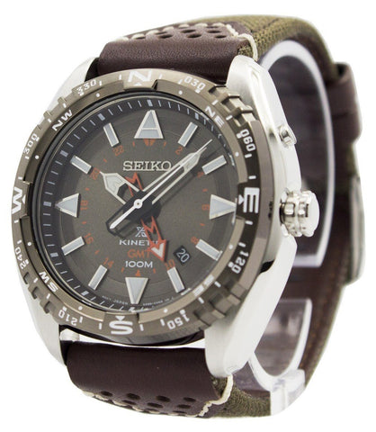 Seiko Prospex Kinetic GMT 100M SUN061 SUN061P1 SUN061P Men's Watch