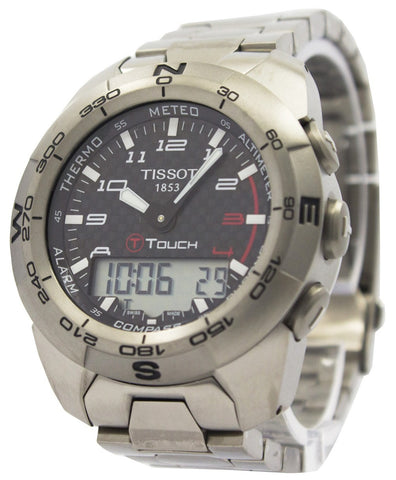 Tissot T Touch Expert Titanium T013.420.44.202.00 T0134204420200 Compass Watch