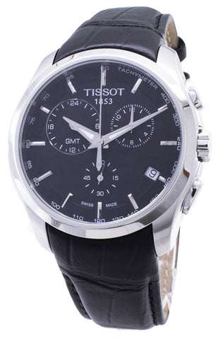 Tissot Couturier Quartz GMT T035.439.16.051.00 T0354391605100 Men's Watch