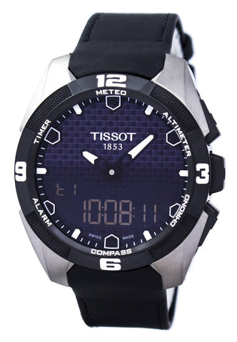 Tissot T-Touch Expert Solar Chronograph T091.420.46.051.00 T0914204605100 Men's Watch