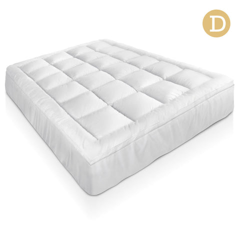 Bamboo Pillowtop Mattress Topper 5cm - Double