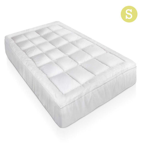 Bamboo Pillowtop Mattress Topper 5cm - Single