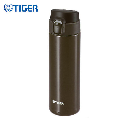 TIGER SUPER LIGHT STAINLESS STEEL CUP MMY-A 0.5L BROWN