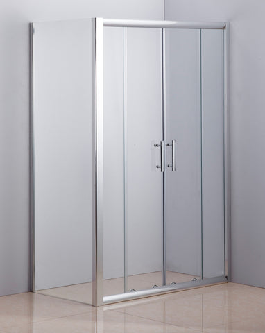 1200 X 700 Sliding Door Safety Glass Shower Screen By Della Francesca