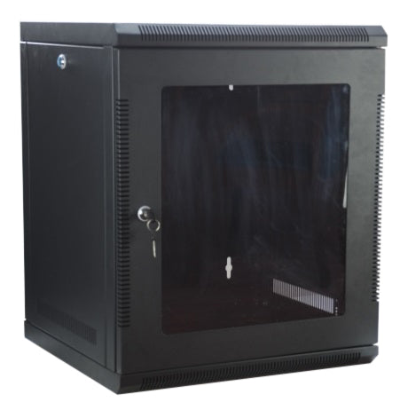 "12U 12RU 19"" 19 Inch Server Network Data Rack Wall Mount Cabinet 500mm Deep"