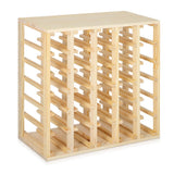 Artiss 30 Bottle Timber Wine Rack
