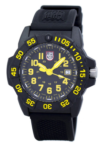 Luminox Navy Seal 3500 Series Diver's XS.3505 Quartz 200M Men's Watch