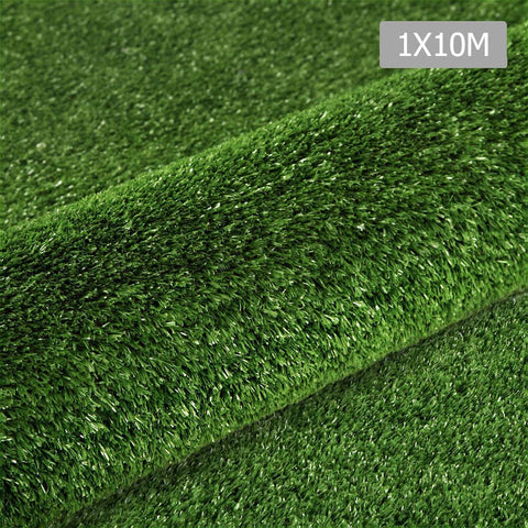 Artificial Grass 10 SQM Polypropylene Lawn Flooring 15mm Olive
