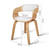 Silas Dining Chair - White