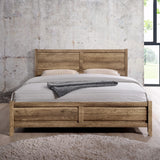 Alice Bed Double Oak Colour
