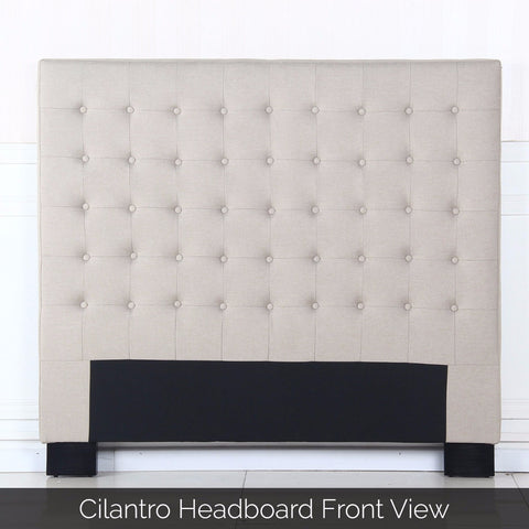 Cilantro Queen Beige Headboard