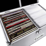Aluminium CD DVD Bluray Storage Case Box 240 Discs SL