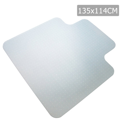 Carpet Floor Office Chair Mat Vinyl 1350 x 1140mm