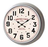 Classic 13'' Metal Wall Clock(White Frame)