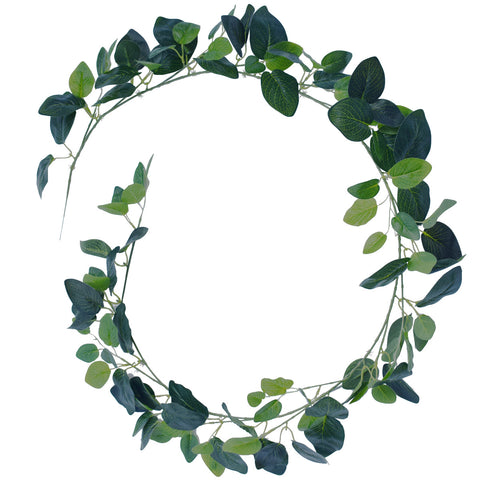 Artificial Birch Garland 190cm