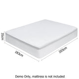 Waterproof Bamboo Mattress Protector - King