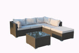 Levanzo Super Modular With Chaise and Table