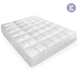 Duck Feather & Down Pillowtop Matress Topper - King
