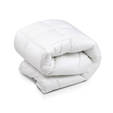Duck Feather & Down Pillowtop Matress Topper - Queen
