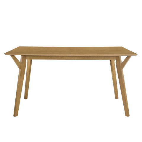Dining table 6 Seater Solidwood Light Oak