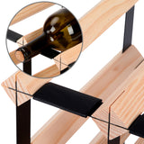Timber Wine Rack 42 Bottles
