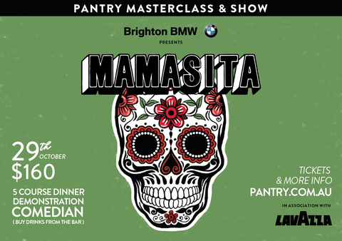 Mamasita Masterclass & Show - 29th October 2019
