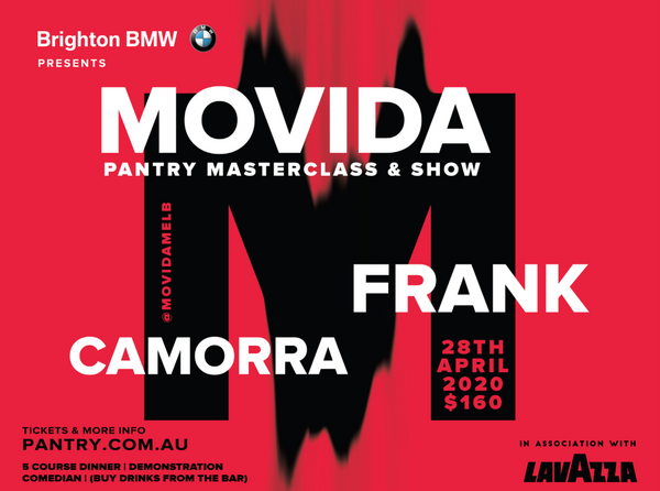 MOVIDA MASTERCLASS & SHOW - 28TH APRIL 2020