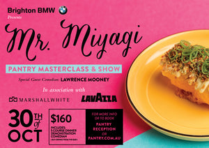 Mr Miyagi Masterclass & Show - 30th October 2018