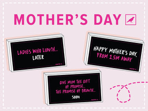 Mother's Day Gift Card Box