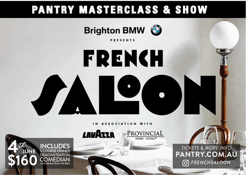 French Saloon Masterclass & Show - 4th June 2019