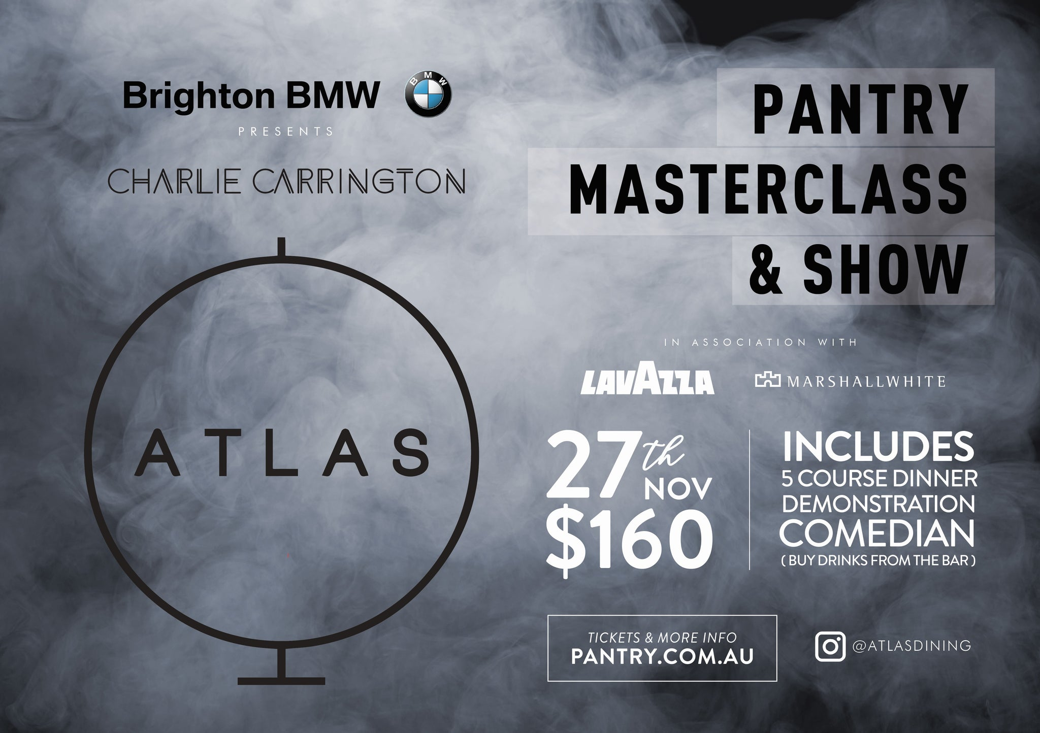 Atlas Dining Masterclass & Show - 27th November 2018