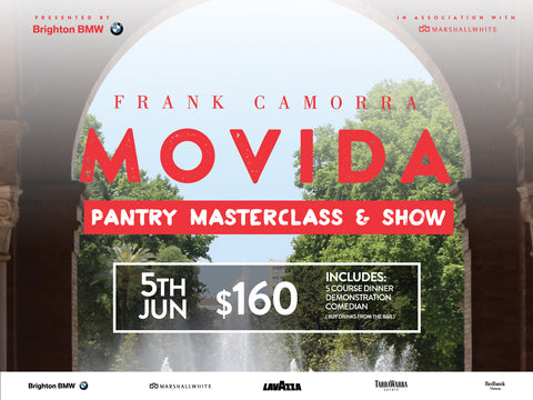 MoVida Masterclass & Show - 5th June 2018