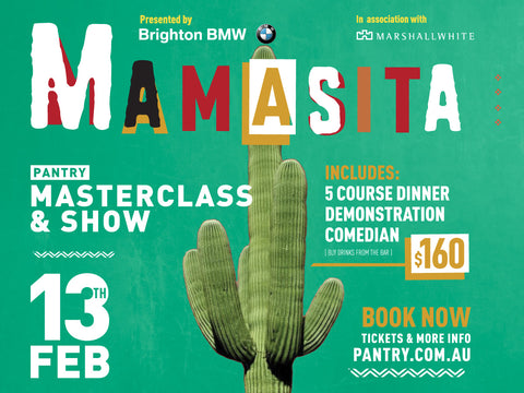 MAMASITA Masterclass & Show - 13th FEB 2018