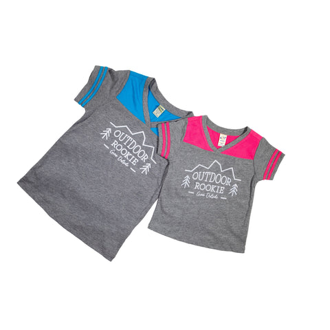 Infant/Toddler V-Neck Football Tshirt