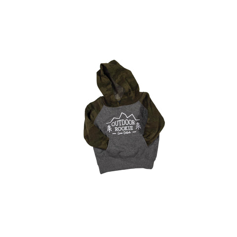 Toddler Outdoor Rookie Camo/Gray Hoodie
