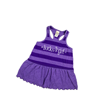 Infant/Toddler Purple Stripe Dress