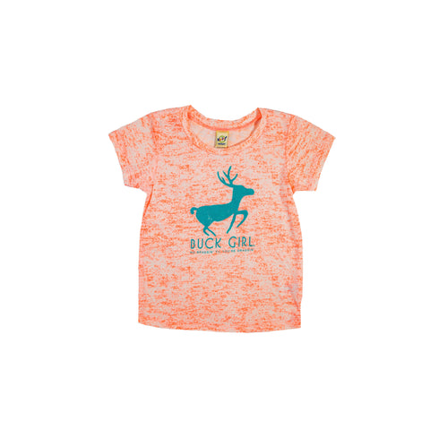 Infant/Toddler Coral No Braggin' Til You're Draggin Short Sleeve