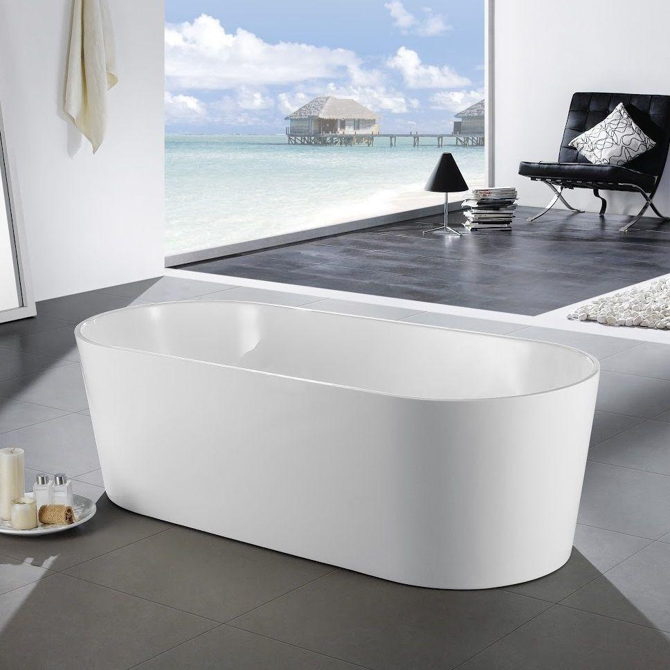 1300 mm Round Freestanding Bath Tub