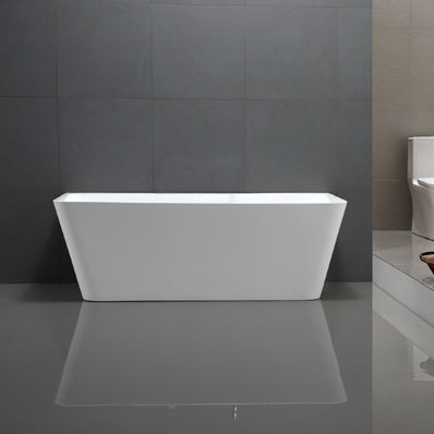 1500mm Carmen Back to Wall Freestanding Bath Tub