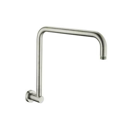 Benalla Star Round Brushed Nickel Shower Arm