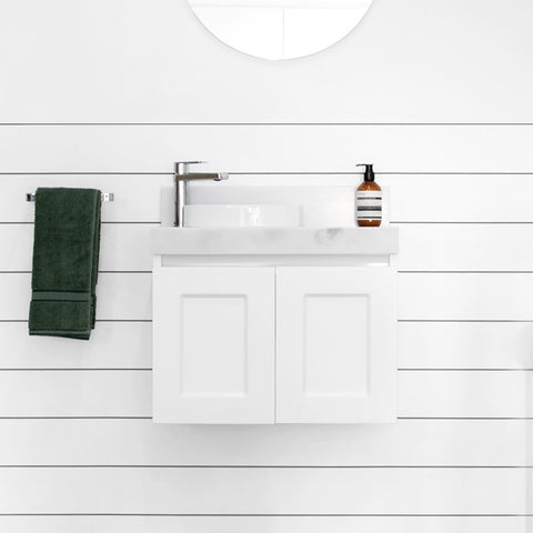 White London 400 mm Mini Wall Hung Vanity