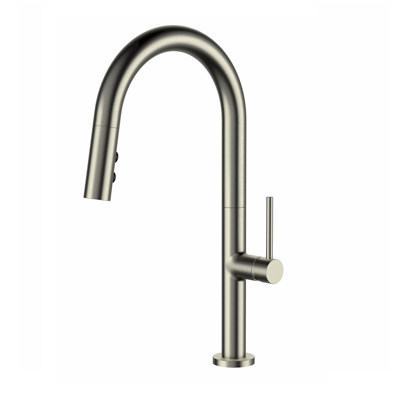 Bentley Brushed Nickel Pull Out Kitchen Mixer