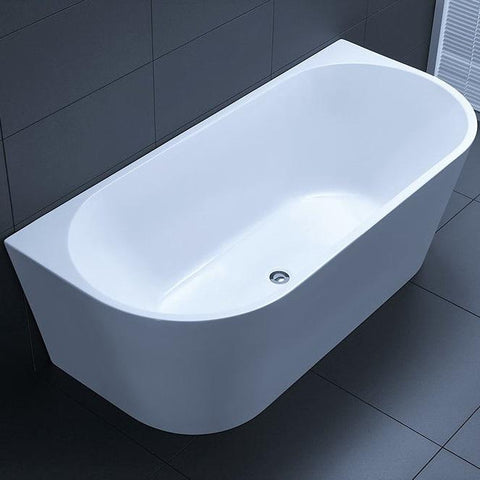 1700 mm Verona Back to Wall Freestanding Bath Tub
