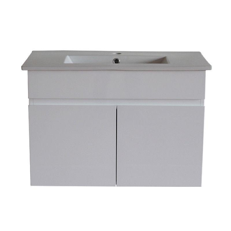 Pavia 900 mm Narrow Wall Hung Vanity